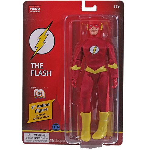 DC Comics Flash Mego 8-Inch Action Figure