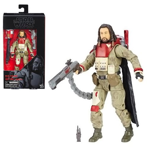 Star Wars Rogue One The Black Series Baze Malbus 6-Inch Action Figure