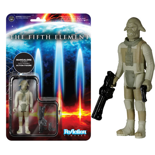 Fifth Element Mangalore ReAction 3 3/4-Inch Retro Action Figure