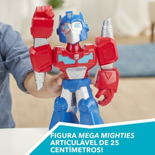 Transformers Mega Mighties 12-Inch Optimus Prime Action Figure