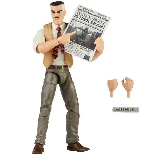Spider-Man Retro Marvel Legends J. Jonah Jameson 6-Inch Action Figure - Exclusive