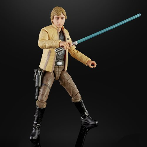 Star Wars The Black Series Luke Skywalker (Skywalker Strikes) 6-Inch Action Figure - Convention Exclusive