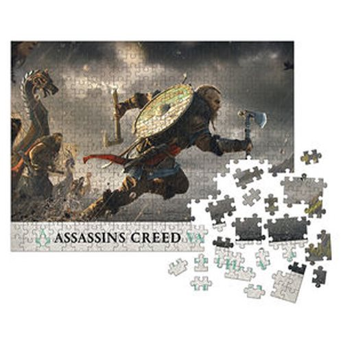Assassin's Creed Valhalla: Fortress Assault 1000-Piece Puzzle