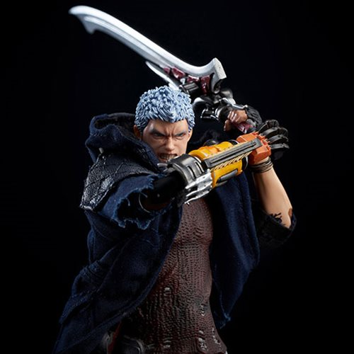 Devil May Cry 5 Nero Deluxe Version 1:12 Scale Action Figure - Previews Exclusive