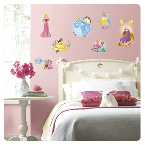 Disney Princess Friendship Adventures Peel and Stick Wall Decals
