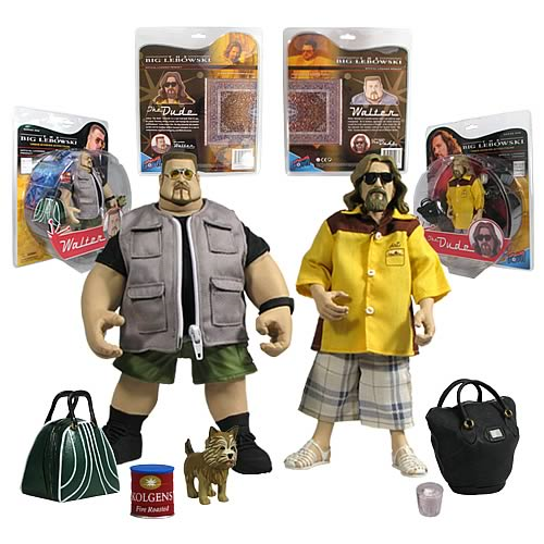 Big Lebowski Urban Achiever 8-Inch Figures Wave 1 Set