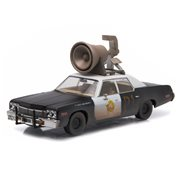 The Blues Brothers 1974 Dodge Monaco Bluesmobile with Horn 1:43 Scale Die-Cast Metal Vehicle