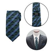 Star Wars Yoda Navy Plaid Mens Tie