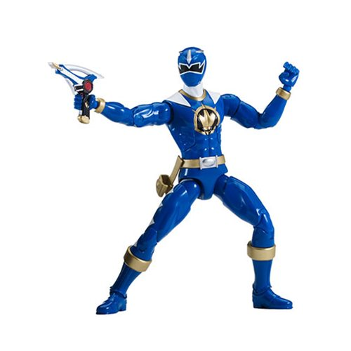 Power Rangers Dino Thunder Legacy Blue Ranger Action Figure