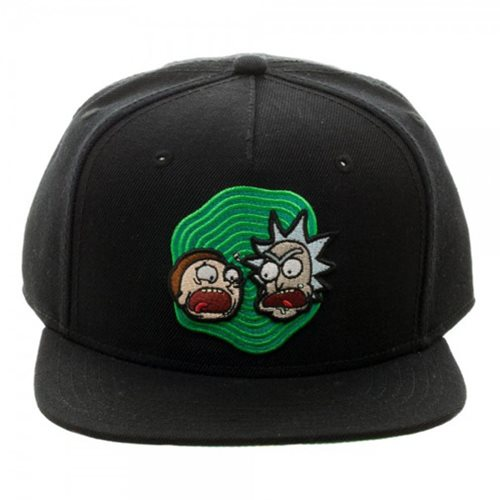 Rick and Morty Screaming Heads Snapback Hat