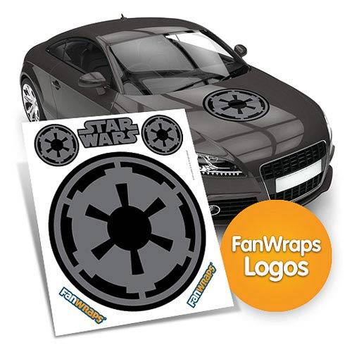 Star wars imperial symbol fanwraps car decal