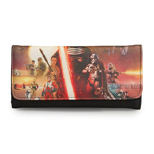 Star Wars: The Force Awakens Movie Poster Photo Wallet