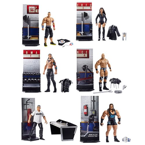 WWE Elite Collection Series 50 Action Figure Case