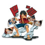 One Piece Story-Age Monkey D. Luffy Statue