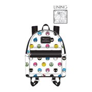 Hello Sanrio Circle Print Mini Backpack