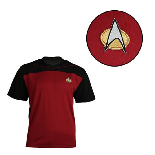 Star Trek: The Next Generation Shore Leave Collection Red Uniform T-Shirt