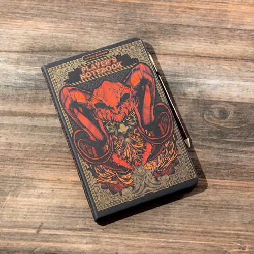 Dungeons & Dragons Notebook and Pencil