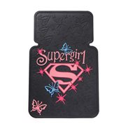 Supergirl Stars Rubber Floor Mat 2-Pack