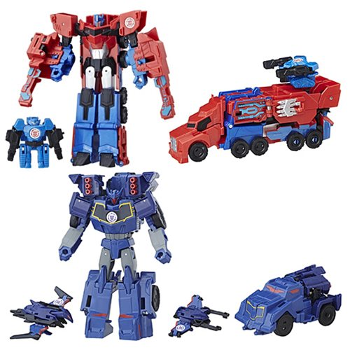 Transformers Robot in Disguise Activator Combiner Wave 3 Set