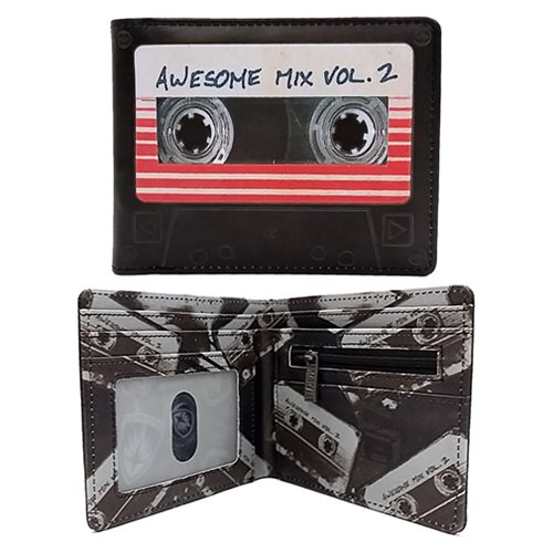 Guardians of the Galaxy Vol. 2 Awesome Mix Tape Wallet