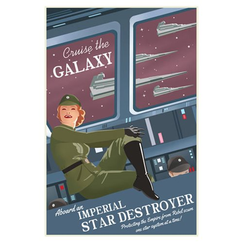 Star Wars Cruise the Galaxy by Steve Thomas Canvas Giclee Art Print