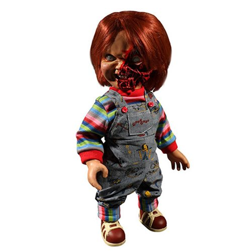 Child's Play Pizza Face Chucky Talking Mega-Scale 15-Inch Doll (Re-Run)