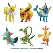 Pokemon Action Pose Figure 3-Pack Pack A, Not Mint