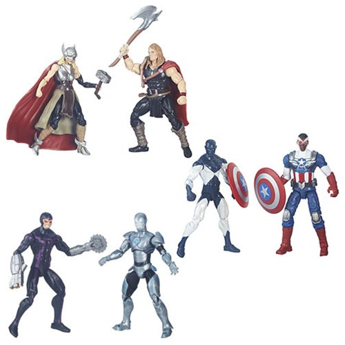 Marvel Legends 3 3/4-Inch Comic Packs Action Figures Wave 1