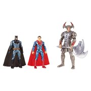 Justice League Movie Batman and Superman vs. Steppenwolf Action Figure 3-Pack