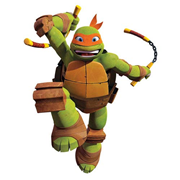 Teenage Mutant Ninja Turtles Mike Giant Wall Decal
