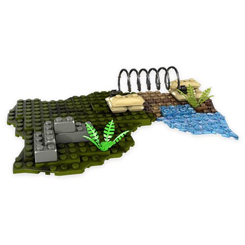 Mega Construx Inventions Combat Grounds Baseplate