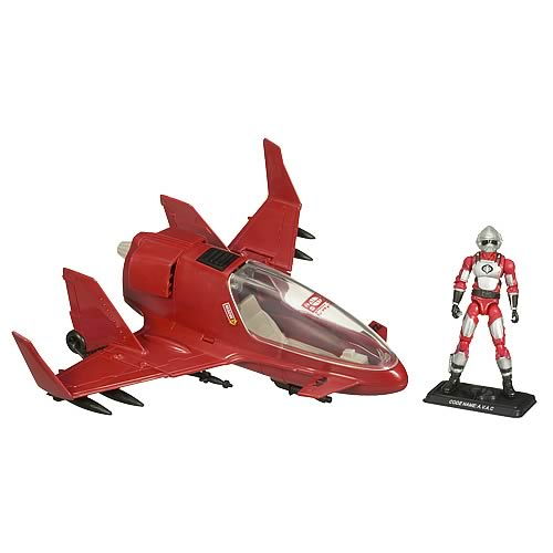G.I. Joe Cobra Firebat with AVAC Vehicle