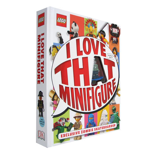 LEGO: I Love That Minifigure Hardcover Book