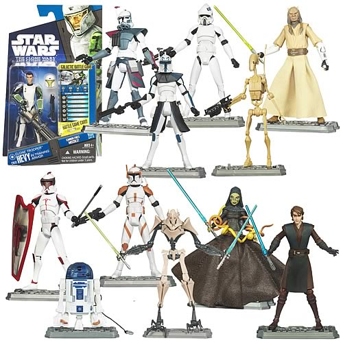 Star Wars Clone Wars Action Figures Wave 9