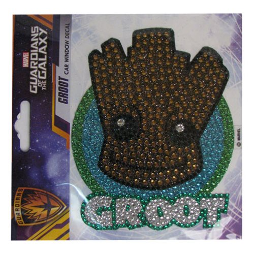 Guardians of the Galaxy Groot Head Crystal Studded Decal