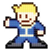 Pixel Pals Fallout 4 Vault Boy Collectible Lighted Figure