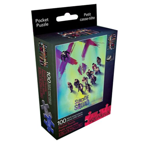 Suicide Squad 100-Piece Pocket Puzzle