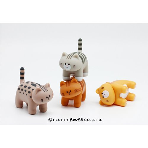 My Home Cat Series 1 Random Box Vinyl Figure 12-Piece Pack