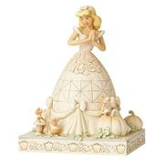 Disney Traditions Cinderella White Woodland Cinderella Darling Dreamer by Jim Shore Statue