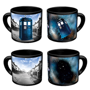 Doctor Who TARDIS Disappearing Mug