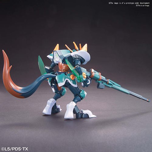 Little Battlers eXperience #11 Fenrir LBX Model Kit
