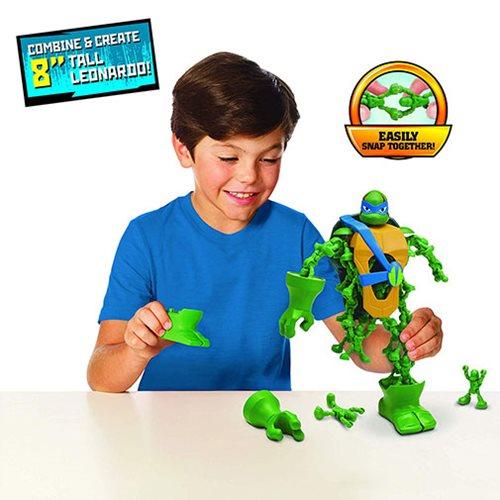 Nano Clix Teenage Mutant Ninja Turtles Rise Of Leonardo Set NEW IN STOCK