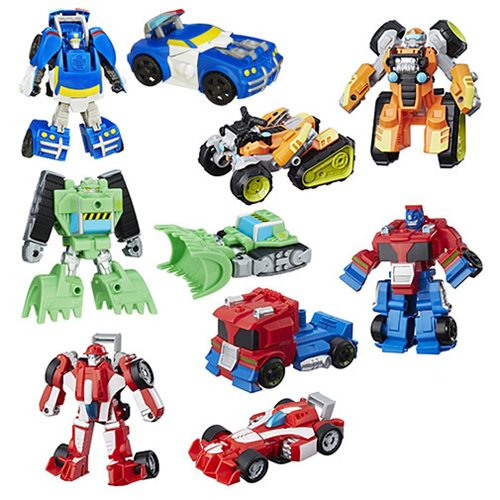 Great Transformers Rescue Bots Rescan Figures Wave 18
