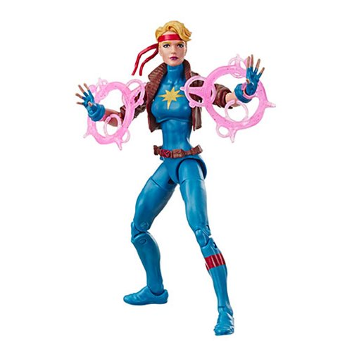 X-Men Retro Marvel Legends 6-Inch Dazzler Action Figure, Not Mint