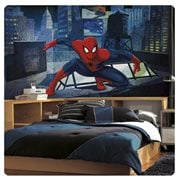 Ultimate Spider-Man CityScape XL Chair Rail Prepasted Mural