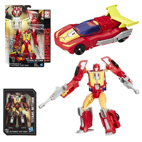 Transformers Generations Titans Return Deluxe Autobot Hot Rod