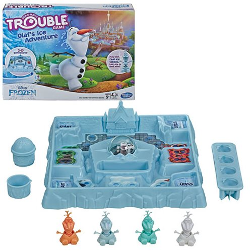 Frozen Olaf's Ice Adventure Trouble Game
