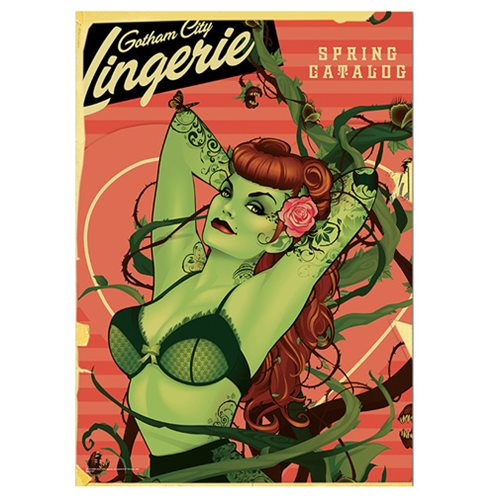 DC Comics Justice League Bombshells Poison Ivy MightyPrint Wall Art Print