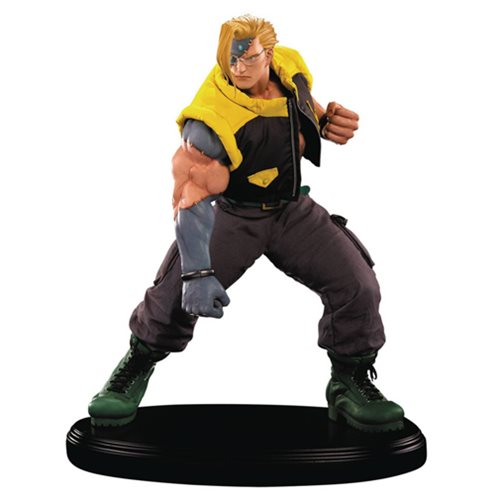 Street Fighter V Charlie Nash 1:4 Scale Statue, Not Mint
