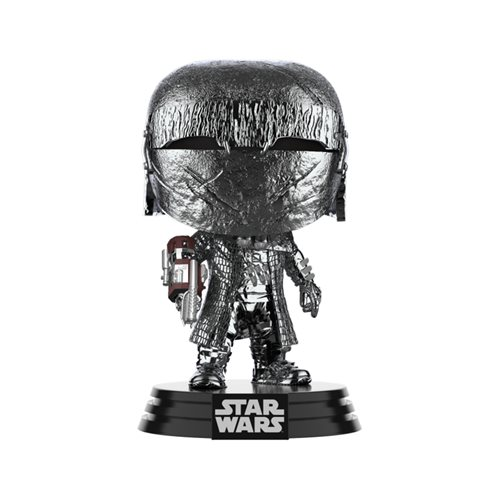 Star Wars: The Rise of Skywalker Hematite Chrome Knights of Ren Cannon Pop! Vinyl Figure